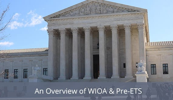 An Overview of WIOA and Pre-ETS