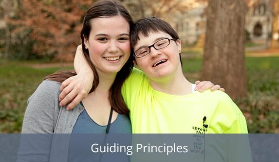 Guiding Principles that are foundational for supporting transition-age students with disabilities. Ten core commitments will be highlighted.