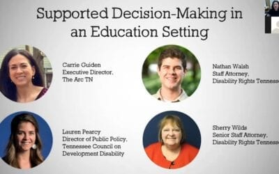 Supported Decision Making in a Classroom Setting
