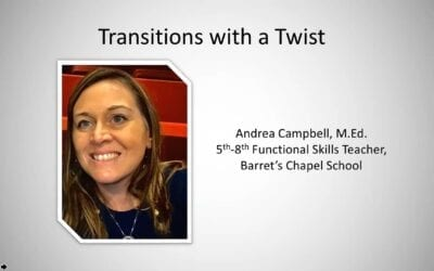 Transitions with a Twist