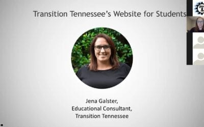 Transition Tennessee's Website for Students