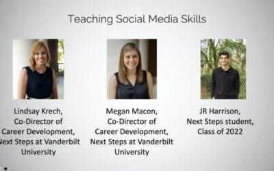 Teaching Social Media Skills