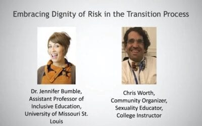Embracing Dignity of Risk in the Transition Process